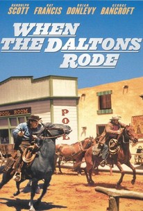 Poster for When The Daltons Rode (1940)