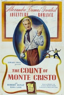 Poster for The Count of Monte Cristo (1934)