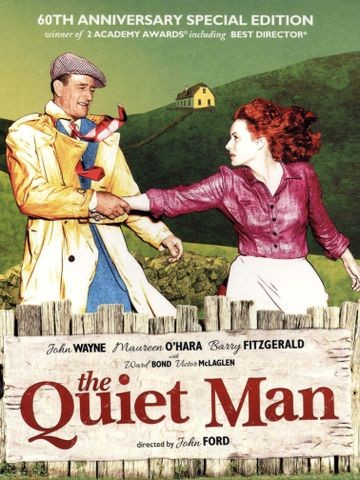 Poster for The Quiet Man (1952)