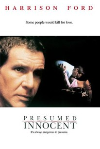 Poster for Presumed Innocent (1990)