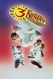 Poster for Three Ninjas Knuckle Up (1995)