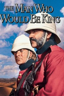 Poster for The Man Who Would Be King (1975)