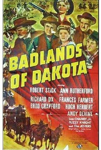 Poster for Badlands of Dakota (1941)
