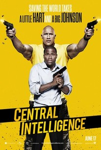 Poster for Central Intelligence (2016)