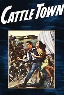 Poster for Cattle Town (1952)