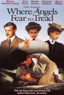 Poster for Where Angels Fear to Tread (1991)