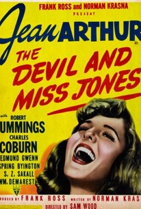 Poster for The Devil and Miss Jones (1941)