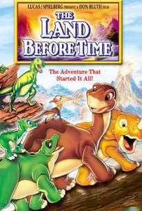 Poster for The Land Before Time (1988)