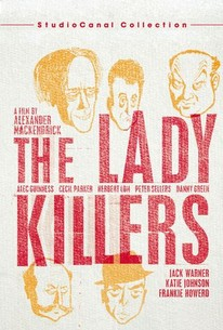 Poster for The Ladykillers (1955)