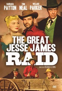 Poster for The Great Jesse James Raid (1953)