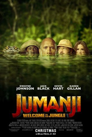 Poster for Jumanji: Welcome to the Jungle (2017)