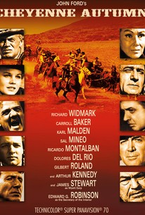 Poster for Cheyenne Autumn (1964)