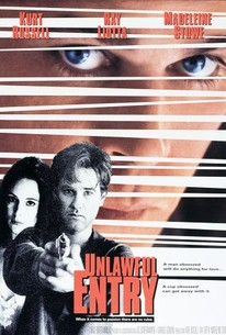 Poster for Unlawful Entry (1992)