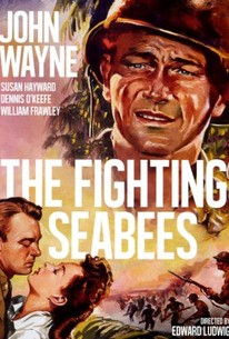 Poster for The Fighting Seabees (1944)