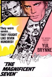 Poster for The Magnificent Seven (1960)