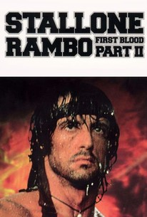 Poster for Rambo: First Blood Part II (1985)