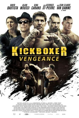 Poster for Kickboxer: Vengeance (2016)