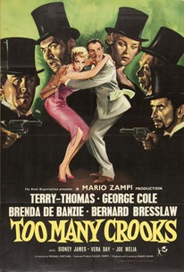 Poster for Too Many Crooks (1959)
