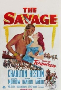 Poster for The Savage (1952)