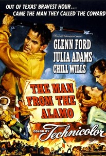 Poster for The Man from the Alamo (1953)
