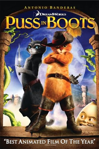 Poster for Puss in Boots (2011)
