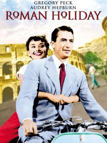 Poster for Roman Holiday (1953)
