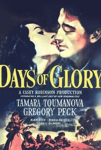 Poster for Days of Glory (1944)