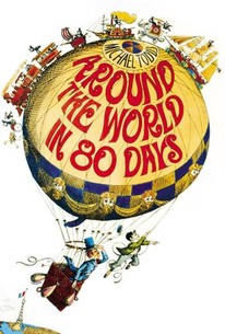 Poster for Around the World in 80 Days (1956)