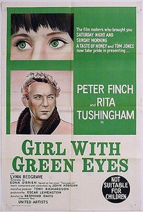Poster for Girl with Green Eyes (1964)