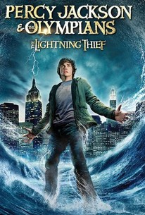 Poster for Percy Jackson & the Lightning Thief (2010)
