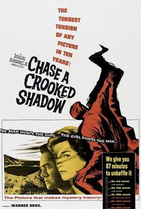 Poster for Chase a Crooked Shadow (1957)