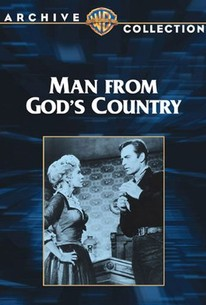 Poster for Man from God's Country (1958)