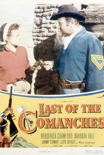 Poster for Last of the Comanches (1953)