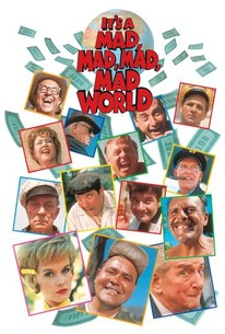 Poster for It's a Mad, Mad, Mad, Mad World (1963)