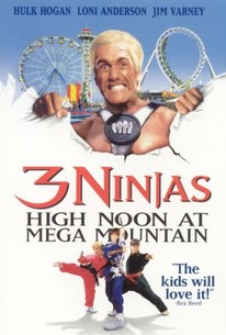 Poster for Three Ninjas: High Noon at Mega Mountain (1998)