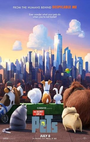 Poster for The Secret Life of Pets (2016)
