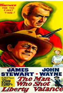 Poster for The Man Who Shot Liberty Valance (1962)