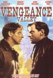 Poster for Vengeance Valley (1951)