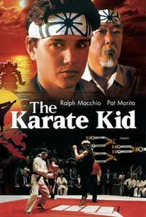Poster for The Karate Kid (1984)