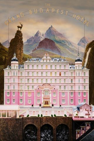 Poster for The Grand Budapest Hotel (2014)