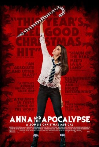 Poster for Anna and the Apocalypse (2017)