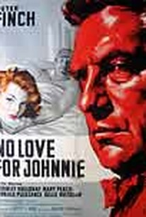 Poster for No Love For Johnnie (1961)