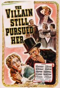 Poster for The Villain Still Pursued Her (1940)