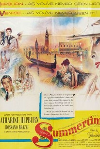 Poster for Summertime (1955)