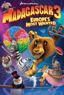 Poster for Madagascar 3: Europe's Most Wanted (2012)