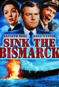 Poster for Sink the Bismarck! (1960)