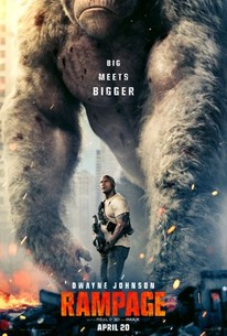 Poster for Rampage (2018)