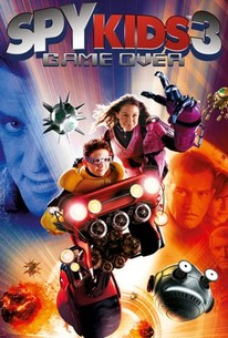 Poster for Spy Kids 3-D: Game Over (2003)