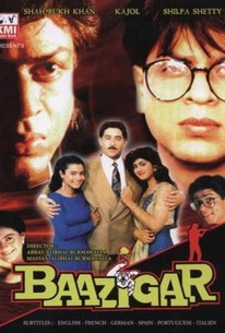Poster for Baazigar (1993)
