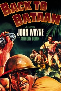 Poster for Back to Bataan (1945)